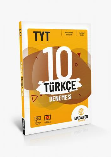 TYT 10'Lu Türkçe Denemesi Madalyon Yayınları Madalyon Yayınları | Kita