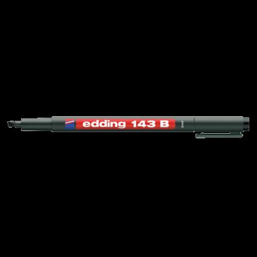Edding Asetat Kalemi Permanent B Seri 1-3 MM Siyah 143 B