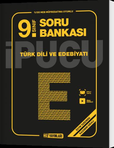 9.Sınıf Türk Dili Ve Edebiyatı İpucu Soru Bankası Hız Yayınları