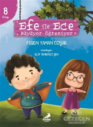 Efe ile Ece Büyüyor Öğreniyor (8 Kitap Set)
