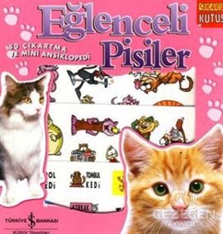 Eğlenceli Pisiler / 80 Çıkartma ve Mini Ansiklopedi