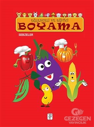 Eğlenceli Ve Eğitici Boyama - Sebzeler