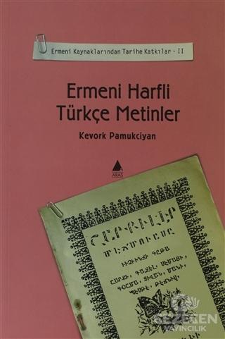 Ermeni Harfli Türkçe Metinler