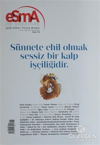 Esma-i Hüsna Dergisi Yıl: 5 Sayı: 58 Kasım 2017