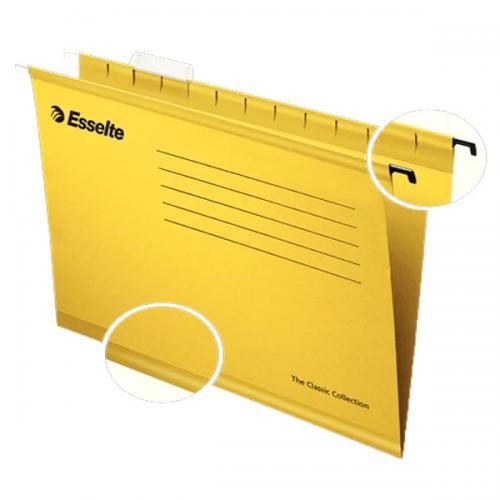 Esselte Askılı Dosya Pendaflex Ekonomik 25 Lİ Sarı 90314