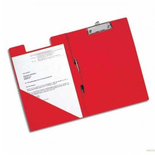 Esselte Kapaklı Sekreterlik Cilt Bezli A4 Kırmızı 3901
