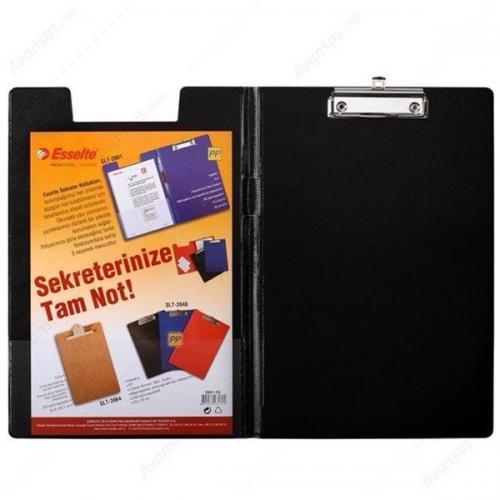 Esselte Kapaklı Sekreterlik Plastik A4 Siyah 3901