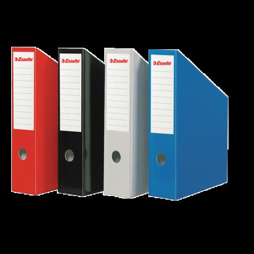 Esselte Kutu Klasör (Magazinlik) Karton 7.2x31.5x25 Kırmızı 5276-25