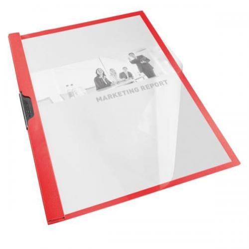 Esselte Sıkıştırmalı Dosya Sırttan Klips Kırmızı 563730