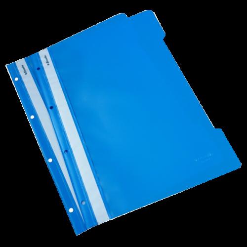 Esselte Telli Dosya Plastik A4 Açık Mavi SLT-4199