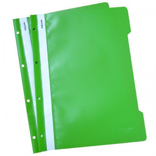 Esselte Telli Dosya Plastik A4 Yeşil SLT-4199