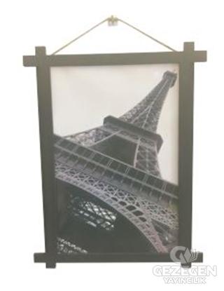 Eyfel Kulesi Ahşap Tablo Kod - 000011