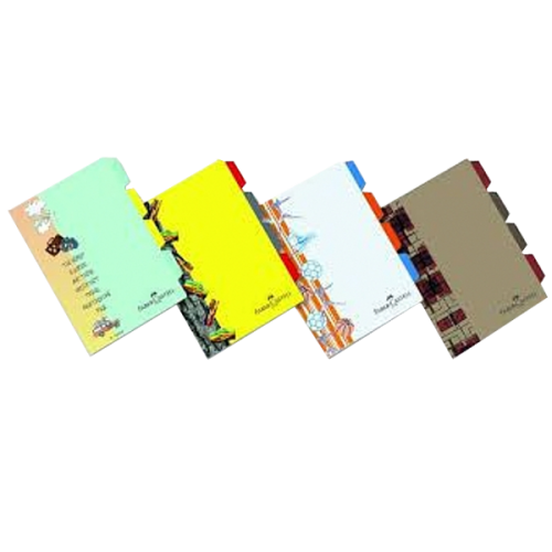 Faber-Castell Dosya Seperatörlü Tasarım Desenli A4 5075518200