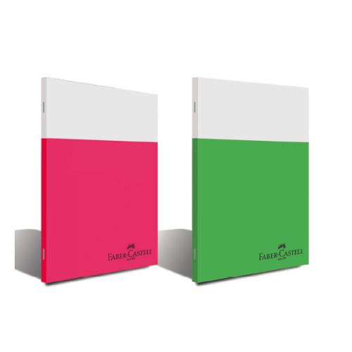 Faber-Castell Kaye Defter Smart Plastik Kapak Çizgili 80 YP A4 5075000168