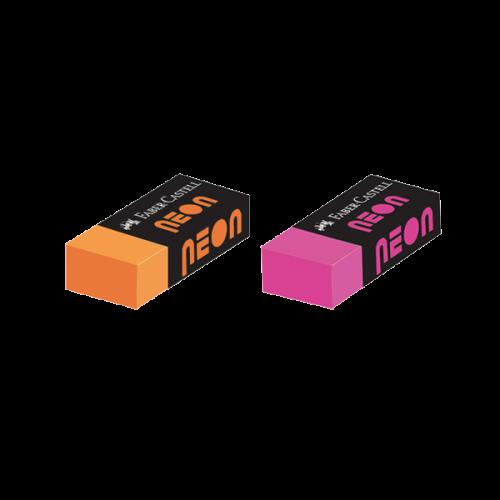 Faber-Castell Öğrenci Silgisi Neon 30 LU Renkli 5131 785000
