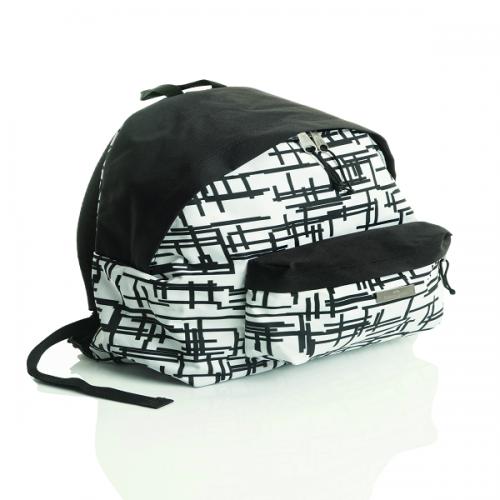 Faber-Castell Okul Çantası Basic Style Çizgili Beyaz 5177190118