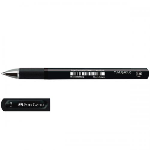 Faber-Castell Roller Kalem Super True Gel İmza Kalemi 1.0 MM Siyah 10 LU 5020 549424