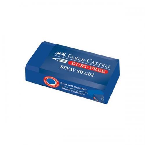 Faber-Castell Sınav Silgisi Dust Free  Mavi (18 72 02) 5130187170