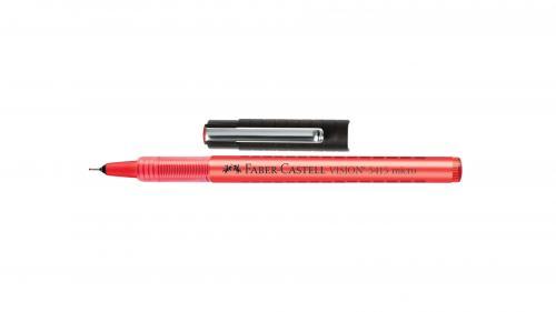 Faber-Castell Roller Kalem Vision Micro İğne Uç 0.3 MM Kırmızı 5020541521