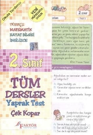 Faktör 2. Sınıf Yaprak Test