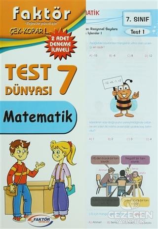 Faktör 7. Sınıf Matematik Test Dünyası - Çek Kopar