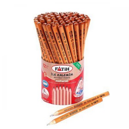 Fatih Kurşun Kalem İlk Kalemim Natural Üçgen FA12050KL0072