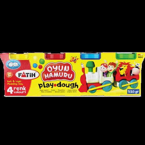 Fatih Oyun Hamuru 520 GR 4 Renk 50061