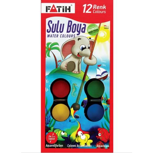 Fatih Sulu Boya 12 Renk S-12