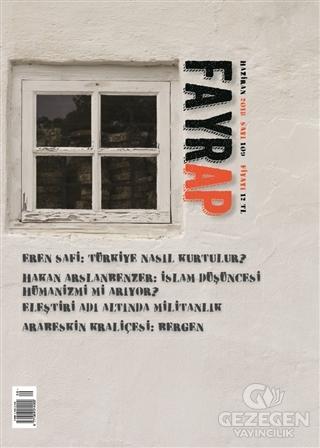 Fayrap Popülist Edebiyat Dergisi Sayı: 109 Haziran 2018