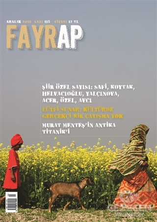 Fayrap Popülist Edebiyat Dergisi Sayı: 115 Aralık 2018