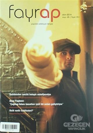 Fayrap Popülist Edebiyat Dergisi Sayı: 65 Ekim 2014