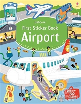 Frist Sticker Book Airport