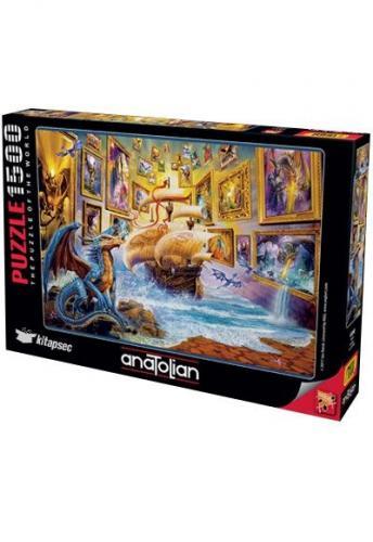 Anatolian Galeri / Gallery 1500 Parça Puzzle - Yapboz