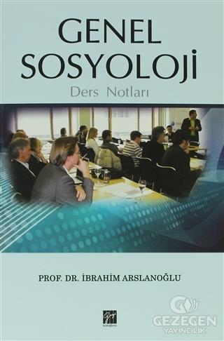 Genel Sosyoloji Ders Notları