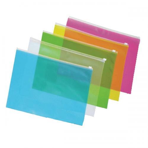 Globox Fermuarlı Dosya A4 Karışık Renk 6460