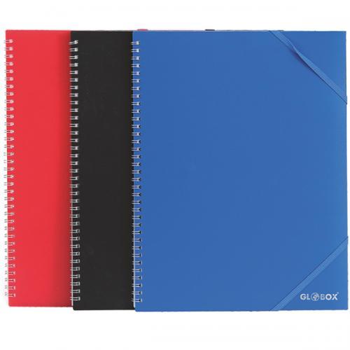 Globox Katalog (Sunum) Dosya Spiralli 30 LU Karışık Renk