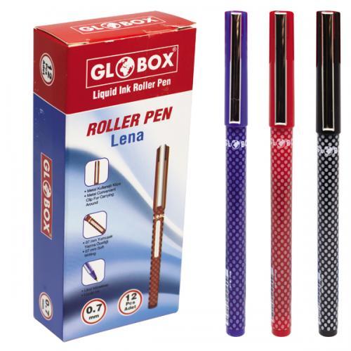 Globox Roller Kalem Lena Kırmızı 6115