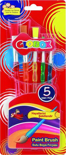 Globox Fırça Seti 5 Lİ 1131
