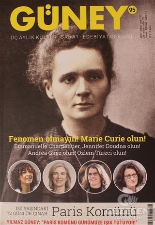 Güney Dergisi Sayı: 95 Ocak Şubat Mart 2021