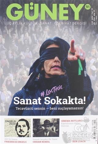 Güney Üç Aylık Kültür Sanat Edebiyat Dergisi Sayı: 91 Ocak - Şubat - Mart 2020