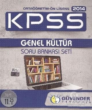 Güvender 2014 KPSS Ortaöğretim - Önlisans Genel Kültür Soru Bankası Seti