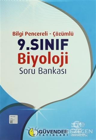 Güvender - 9. Sınıf Biyoloji Soru Bankası Bilgi Pencereli - Çözümlü
