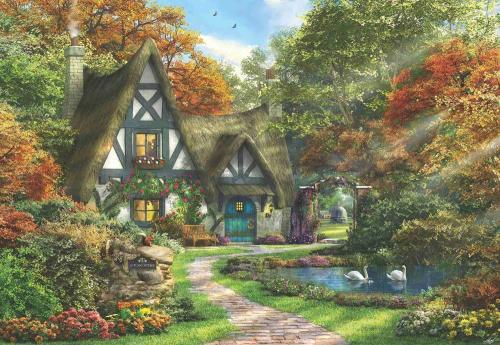 Anatolian Güz Evi The Autumn Cottage 2000 Parça Puzzle - Yapboz