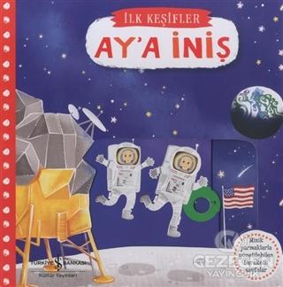 Hareketli Ay'a İniş | Kitap Gezegeni İş Bankası Kültür Yayınları