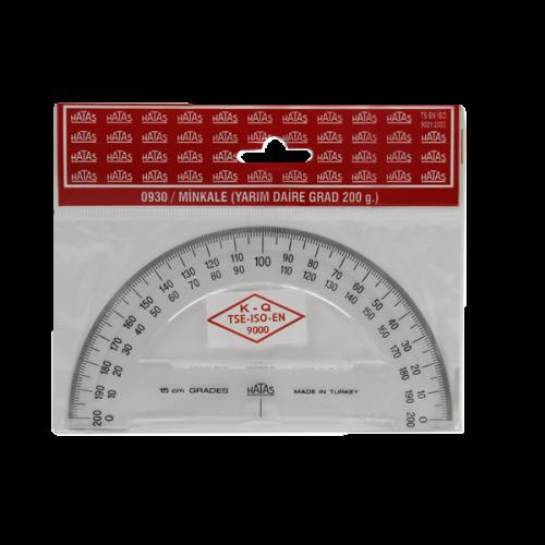 Hatas Minkale Plastik 200 Derece 15 CM 0930