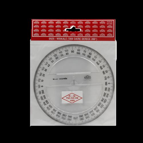 Hatas Minkale Plastik 360 Derece 15 CM 0920
