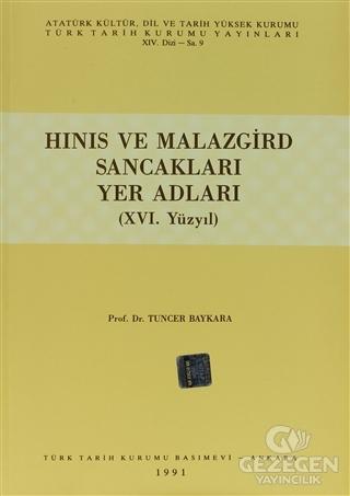 Hınıs ve Malazgird Sancakları Yer Adları (16. Yüzyıl)
