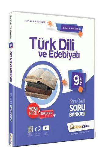 Hiper Zeka 9. Sınıf Türk Dili ve Edebiyatı Konu Özetli Soru Bankası Hiper Zeka Yayınları
