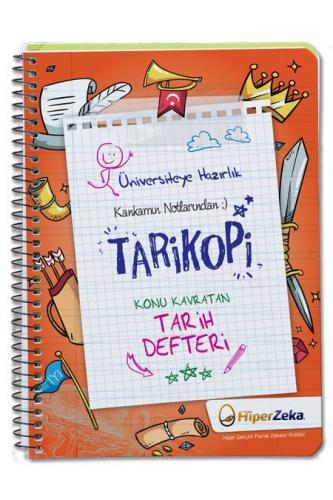 Hiper Zeka YKS TYT AYT TARİKOPİ Konu Kavratan Tarih Defteri Hiper Zeka Yayınları