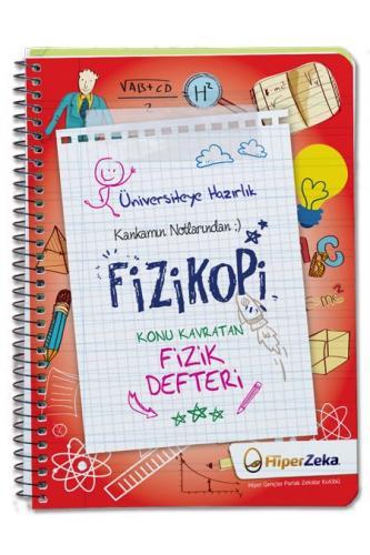 Hiper Zeka YKS TYT FİZİKOPİ Konu Kavratan Fizik Defteri Hiper Zeka Yayınları